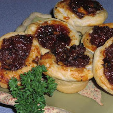 Mini BBQ Sausage Tartlets