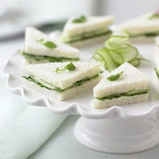 Cucumber-Watercress Tea Sandwiches