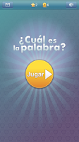 Screenshot of ¿Cuál es la palabra? - 4 Fotos