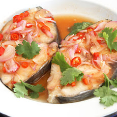 Thai-Style Sweet and Sour Steamed Fish