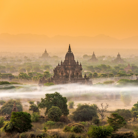 Holy place by Krissanapong Wongsawarng - Landscapes Travel ( myanmar, bagan )