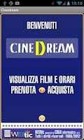 Screenshot of Webtic CineDream Cinema