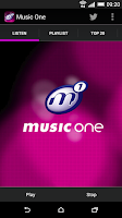 Screenshot of Music One