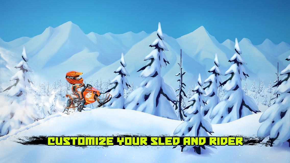 Sled Mayhem Screenshot 0