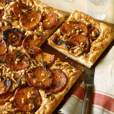 Caramelized Sweet Potato Focaccia