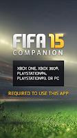 Screenshot of EA SPORTS™ FIFA 15 Companion
