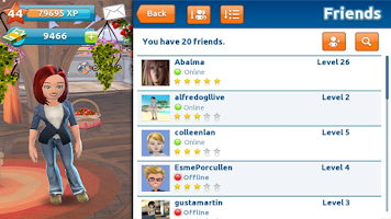 Screenshot of Gameloft LIVE!
