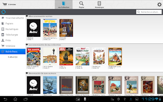 Screenshot of bdBuzz : BD Comics Manga