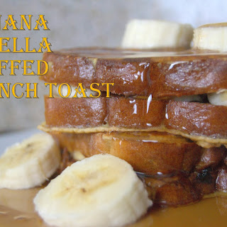 Banana Nutella Stuffed French Toast