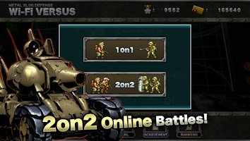 Screenshot of METAL SLUG DEFENSE