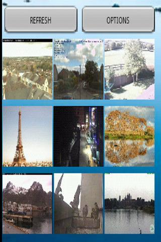 Webcams Widget