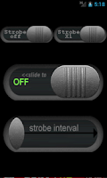 Screenshot of Strobe LED Flashlight