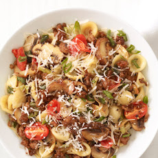 Orecchiette With Spicy Sausage