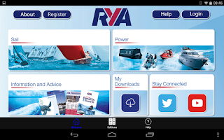 Screenshot of RYA Books