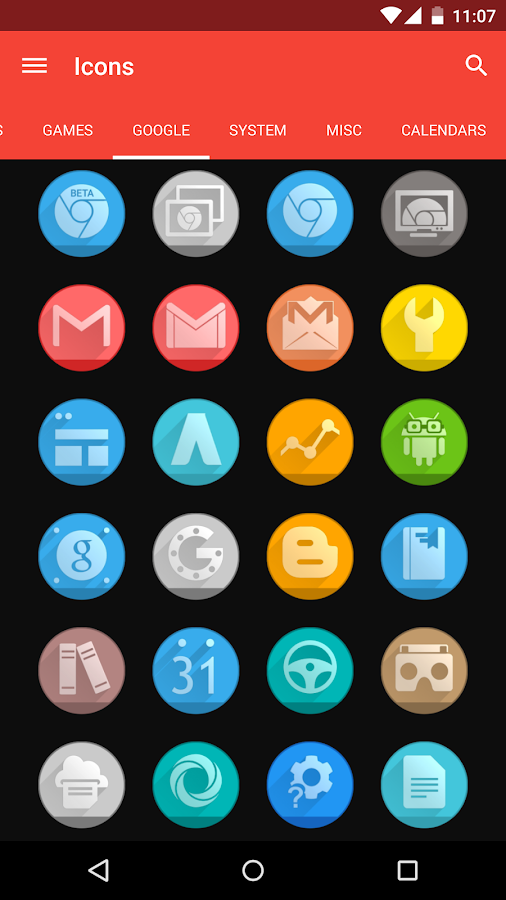 Circlons - Icon Pack Screenshot 4