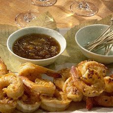 Grilled Curried Shrimp