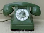 Desk Phones - Western Electric 302 Green