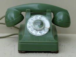 Desk Phones - Western Electric 302 Green 1