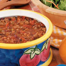 Turkey Bean Chili Recipe