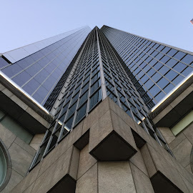 Up the Building 2 by Eric Miramontes - Novices Only Objects & Still Life ( structure, building, los angeles, angle, city )
