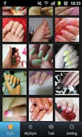 Screenshot of NailTalk_NailArt Style
