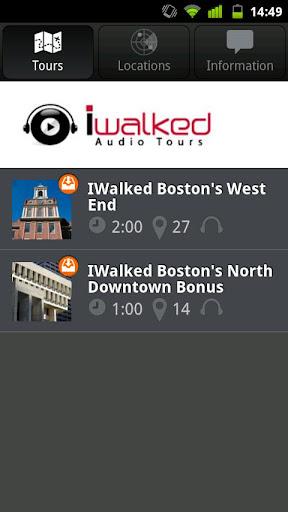 IWalked Boston's West End