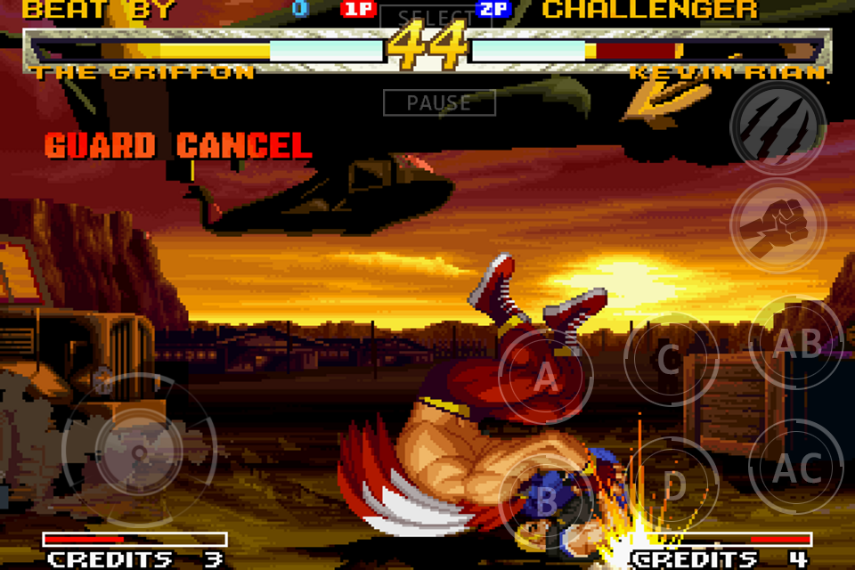 GAROU: MARK OF THE WOLVES Screenshot 12