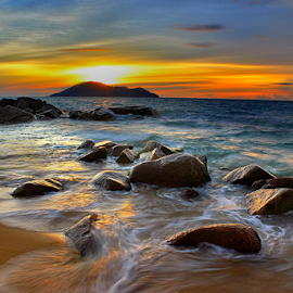 Sapuan Ombak by Dany Fachry - Landscapes Waterscapes ( west borneo, indonesia, beach, landscapes, waterscapes,  )