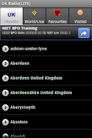 Screenshot of UK Radio(LITE)