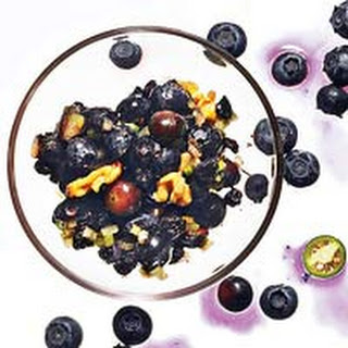 Sweet & Spicy Double-Blueberry Salsa