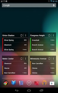 DC Metro - screenshot
