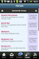 Screenshot of StormATM