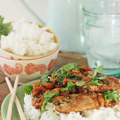 Stir-Fried Cashew Pork
