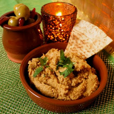 Sweet Potato and Lime Hummus