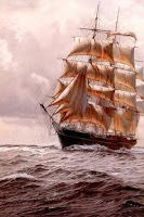 Screenshot of Painting Sailboat Puzzle
