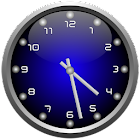 3d Glow Analog Clock Set icon