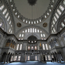 Nuruosmaniye Mosque, Istanbul by Almas Bavcic - Buildings & Architecture Places of Worship