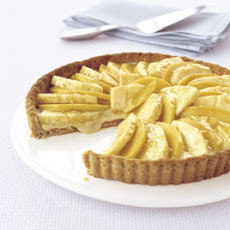 Mango-Pineapple Tart with Macadamia Nut Crust
