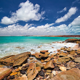 gantheaume point broome by Michael PhotoTraeger - Landscapes Beaches ( amazing, polariser color, sand, broome, pop, beach, landscape, phototraeger )
