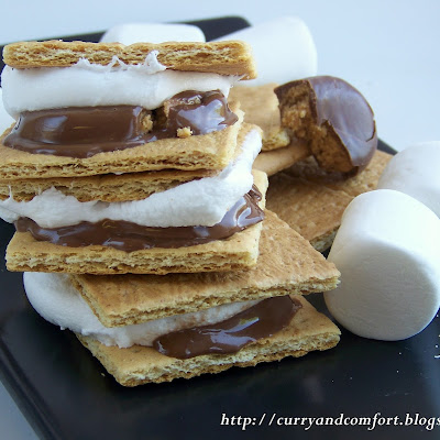 Reese's Peanut Butter S'mores (Microwave Version)