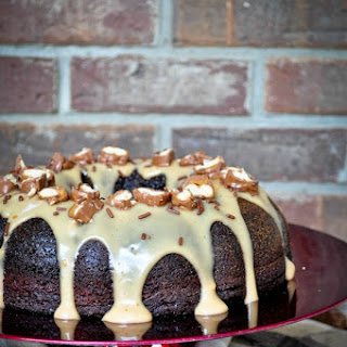 Chocolate-Coffee Cake with Kahlua Sauce
