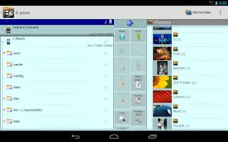 Screenshot of X-plore File Manager