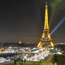 Colors of Freedom by Jatin Patel - Abstract Light Painting ( paris, 70-300, d90, nikon )