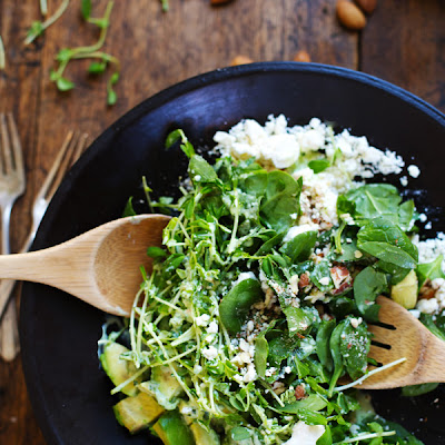 Chopped Green Goddess Salad