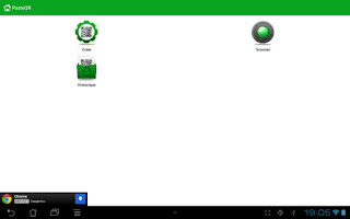 Screenshot of PasteQR