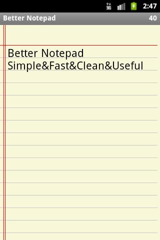 【免費商業App】Better Notepad-APP點子
