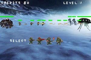 Screenshot of Humans vs Aliens