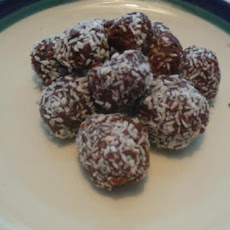 Coconut-Orange Fudge Truffles