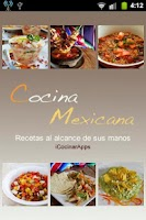 Screenshot of iCocinar Cocina Mexicana