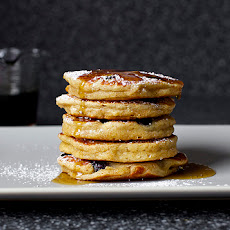 Blueberry Yogurt Multigrain Pancakes